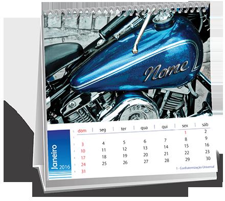 Calendario de Mesa 14-5x14-5 Dados Variáveis Vila Giordano