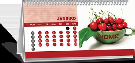 Calendário de Mesa Com Base Personalizada Rio de Janeiro